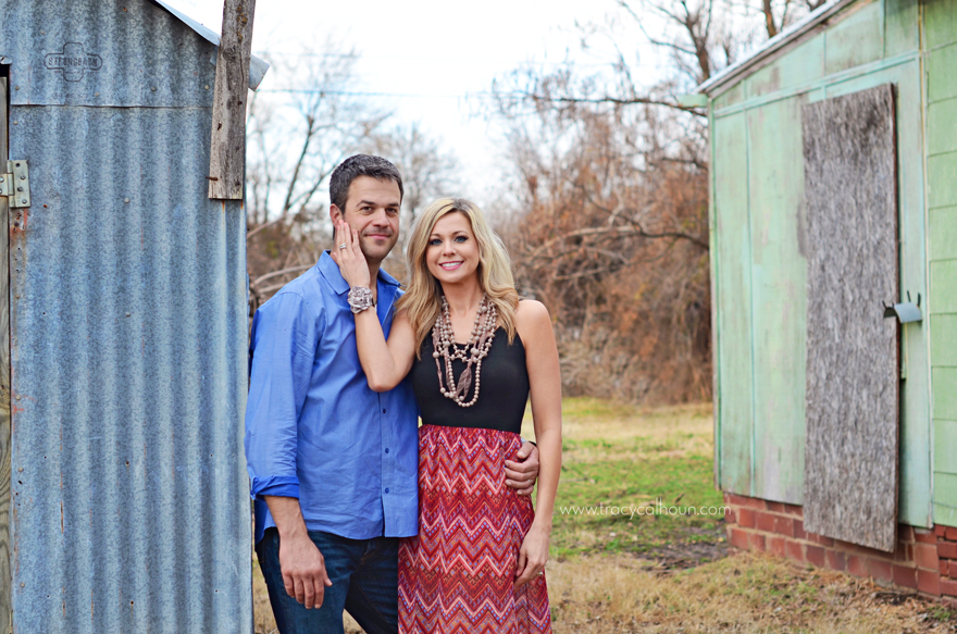 Tulsa couple session